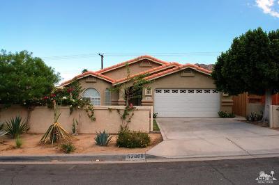 La Quinta Cove Single Family Home For Sale: 53800 Avenida Obregon