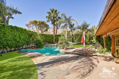 Palm Springs Single Family Home For Sale: 1110 East Buena Vista Drive