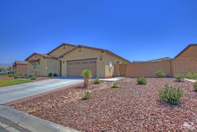 Indio Single Family Home Contingent: 42346 Everest Drive