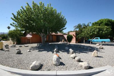 Cathedral City Single Family Home Contingent: 69365 Vera Drive