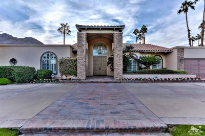 Indian Wells Single Family Home Contingent: 45725 Manitou Drive