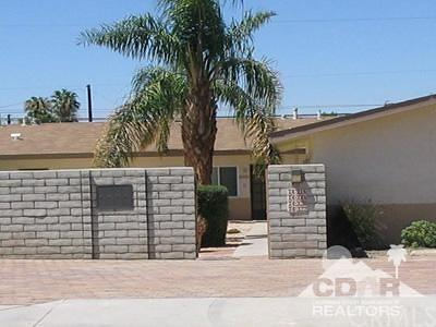 Palm Desert Multi Family Home For Sale: 74316 Alessandro Drive Drive