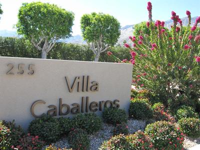 Palm Springs Condo/Townhouse For Sale: 255 South Avenida Caballeros #310