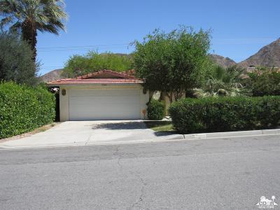 La Quinta Single Family Home For Sale: 53880 Avenida Obregon
