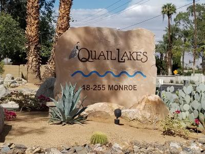 Indio Condo/Townhouse For Sale: 48255 Monroe Street South #63