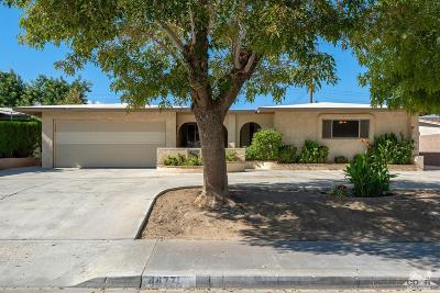 Indio Single Family Home For Sale: 44771 Swingle Avenue