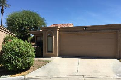 Palm Desert Condo/Townhouse Sold: 44299 Nice Court