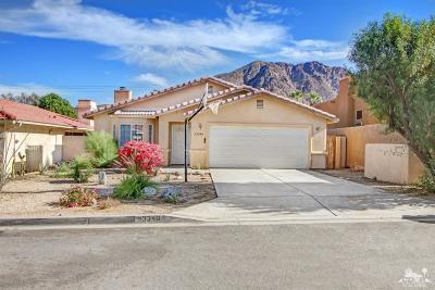 La Quinta Single Family Home For Sale: 53340 Avendia Mendoza