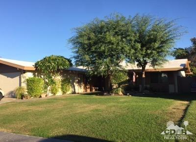 Indio Single Family Home For Sale: 81860 Arus Avenue Avenue