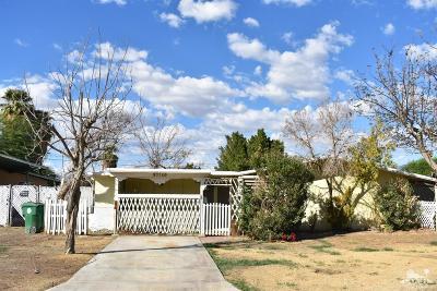 Indio Single Family Home For Sale: 83140 Emerald Avenue