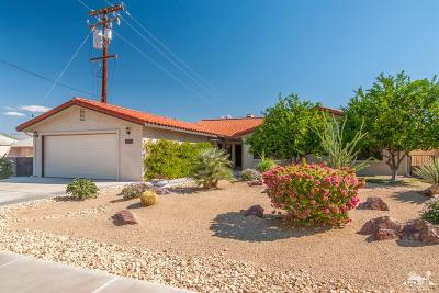 Palm Desert Country Single Family Home Contingent: 43280 Warner Trail