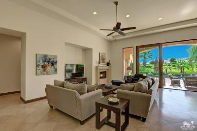 La Quinta Single Family Home Sold: 80597 Via Savona