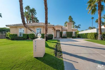Rancho Mirage Single Family Home For Sale: 39857 North Kersten Road North