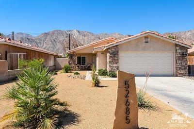 La Quinta Cove Single Family Home For Sale: 52685 Avenida Alvarado