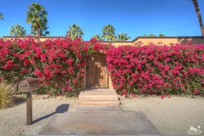 Palm Desert Single Family Home Sold: 45475 Verba Santa Drive