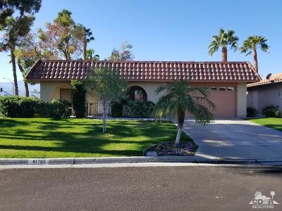 Palm Desert Single Family Home For Sale: 41765 Largo