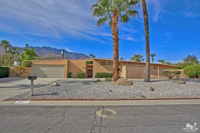 Palm Springs Single Family Home Contingent: 2211 North Starr Road