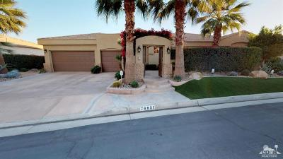 Indian Wells Single Family Home Sold: 76951 Comanche Lane