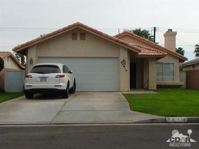 La Quinta Single Family Home For Sale: 51610 Avenida Martinez