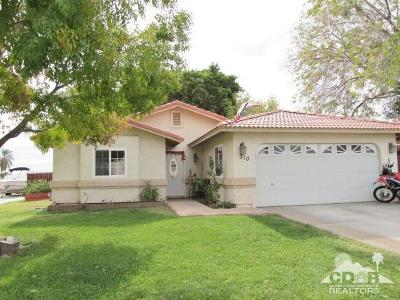 Blythe Single Family Home For Sale: 310 W Chaparral Drive