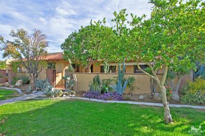 Palm Desert Single Family Home Contingent: 48070 Center Court