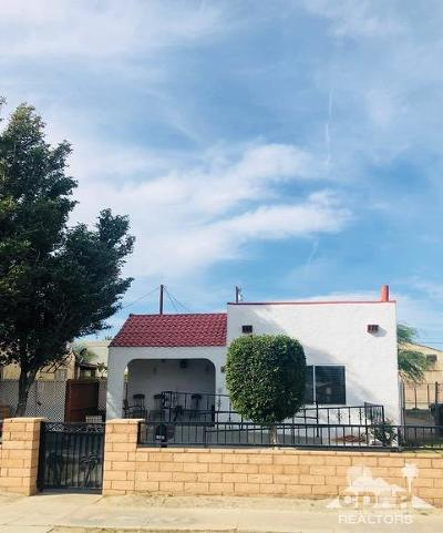 Indio Single Family Home For Sale: 44769 King Street
