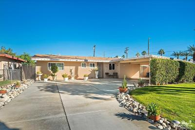 Cathedral City Single Family Home Contingent: 35440 Corregidor Drive