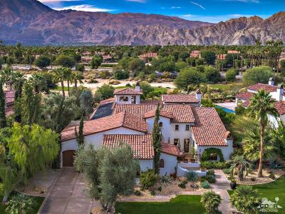 La Quinta Single Family Home For Sale: 55495 Medallist Drive
