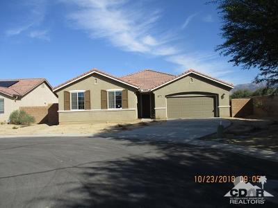 Indio Single Family Home For Sale: 84372 Falco Court