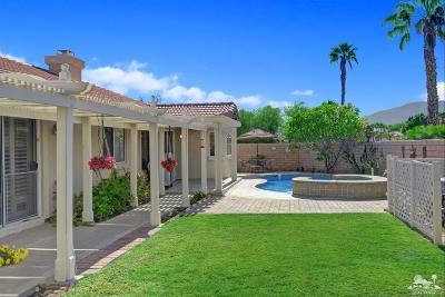 La Quinta Single Family Home Contingent: 44675 Marguerite Court