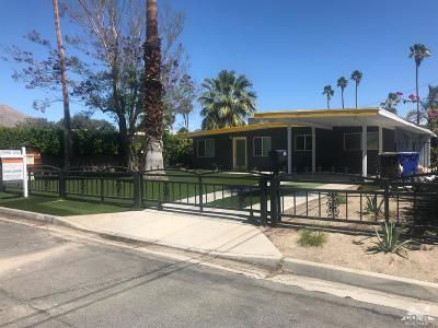 Palm Springs Single Family Home For Sale: 1230 East Buena Vista Drive