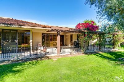 Rancho Mirage Single Family Home For Sale: 13 Rutgers