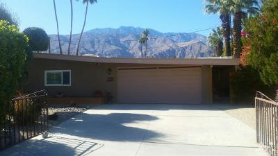 Palm Springs Single Family Home For Sale: 1270 Pasatiempo Road