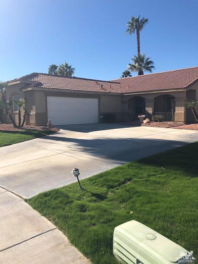 Palm Desert Single Family Home For Sale: 37847 Colebridge Street
