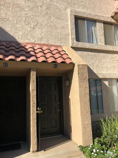 Indio Condo/Townhouse For Sale: 82567 Ave 48 #91