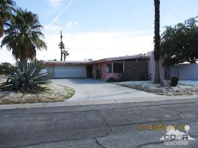 Palm Springs Single Family Home For Sale: 2025 East Francis Drive