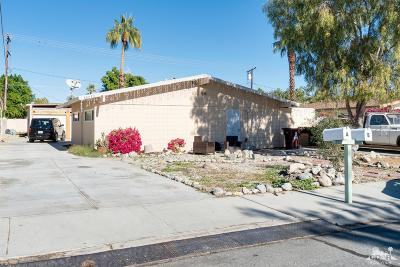 Cathedral City Multi Family Home For Sale: 68080 Tortuga Road