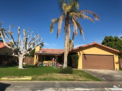 Single Family Home For Sale: 68130 Molino Court