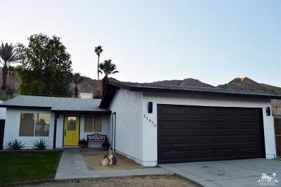 La Quinta Single Family Home Sold: 51975 Avenida Obregon