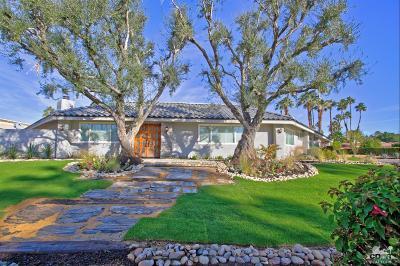 Rancho Mirage Single Family Home For Sale: 70880 Tamarisk Lane