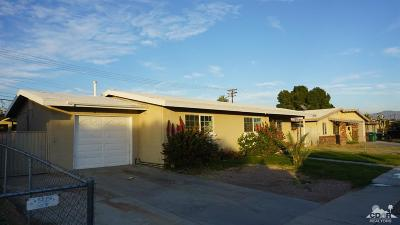 Indio Single Family Home For Sale: 82342 Adobe Road