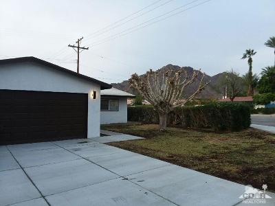 La Quinta Single Family Home Contingent: 51730 Avenida Villa