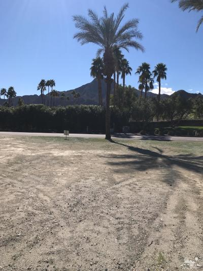 Indian Wells Residential Lots & Land For Sale: 75540 Fairway Drive