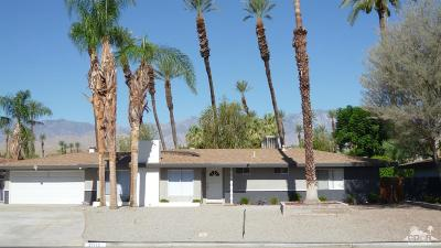 Rancho Mirage Single Family Home Contingent: 37115 Palmdale Road