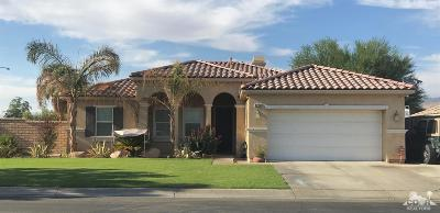 Indio Single Family Home For Sale: 82150 Dunn Drive
