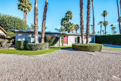 Rancho Mirage Single Family Home Contingent: 37320 Palmdale Road