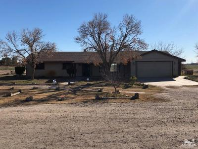 Blythe Single Family Home For Sale: 12761 Coyote Court