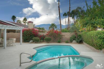 Palm Desert Single Family Home Sold: 40669 Meadow Lane