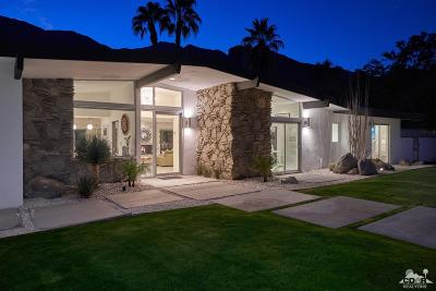 Palm Springs Single Family Home For Sale: 841 N Rose Avenue