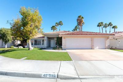 Palm Desert Single Family Home For Sale: 40590 Glenwood Lane